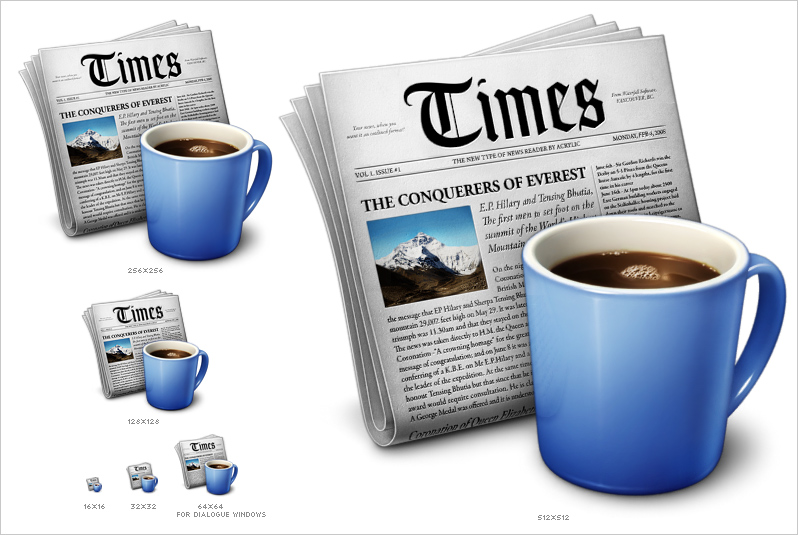 Times App Icons